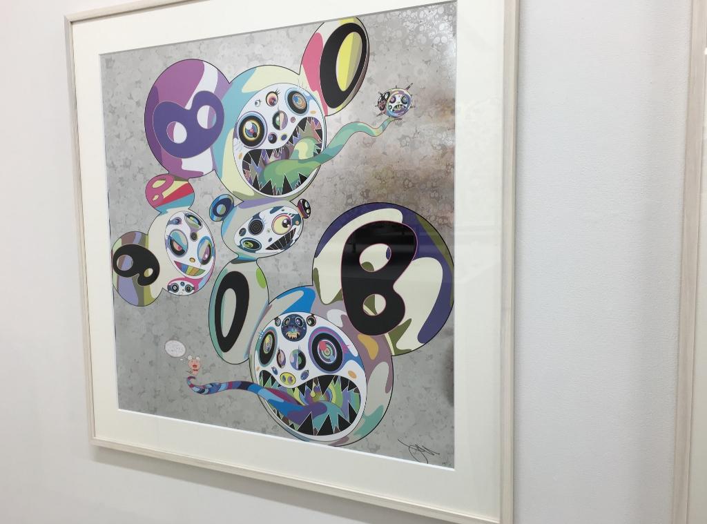 무라카미 타카시 300장 한정 포스터 「스파이럴」카이카이키키 kaikaikiki TAKASHI MURAKAMI FLOUR