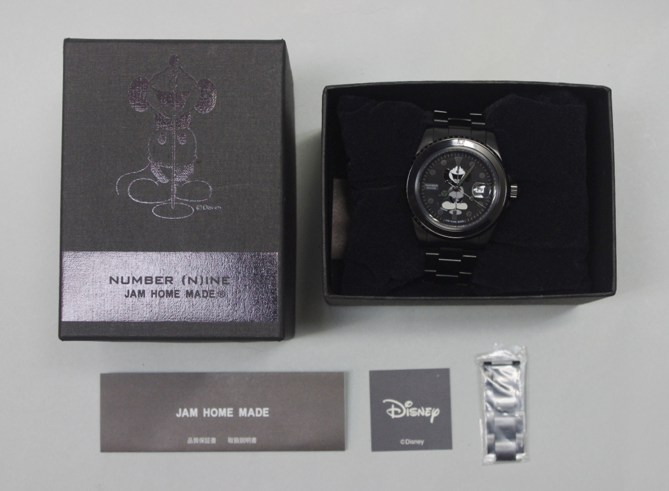 JAMHOMEMADE×NUMBER(N) INE DISNEY 미키마우스 손목시계 MICKEY MOUSE WATCH TYPE-A