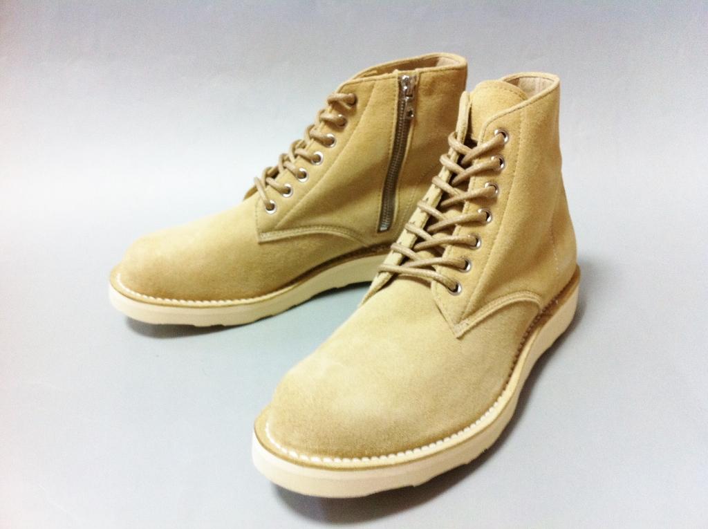 33c726d104c SOPHNET. sohonet 7 HOLE ZIP UP WORK BOOTS boots