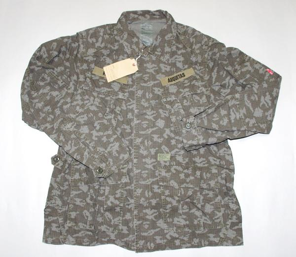 W) double taps taps x BAPE ape M-65 jacket JUNGLE