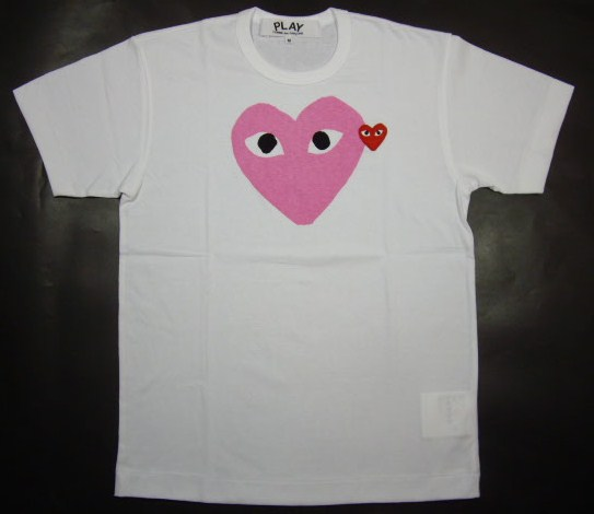 ☆COMME des GARCONS☆PLAY 하트 T셔츠