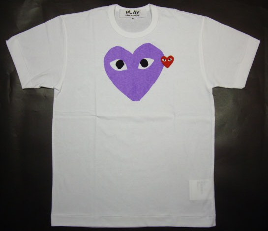 ☆ COMME des GARCONS ☆ PLAY heart T shirt