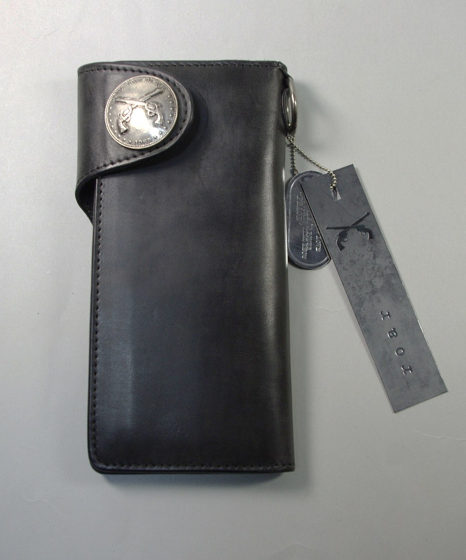 roarロアー2丁拳銃アイコン コンチョ付きウォレット財布