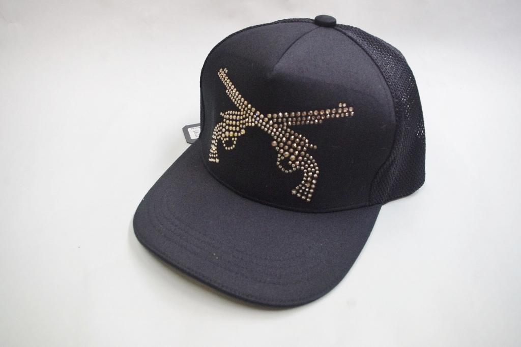 roar(ロアー)のSWAROVSKI CRYSTAL PISTOL SWARO MESH CAP(99) 16FRQ-01