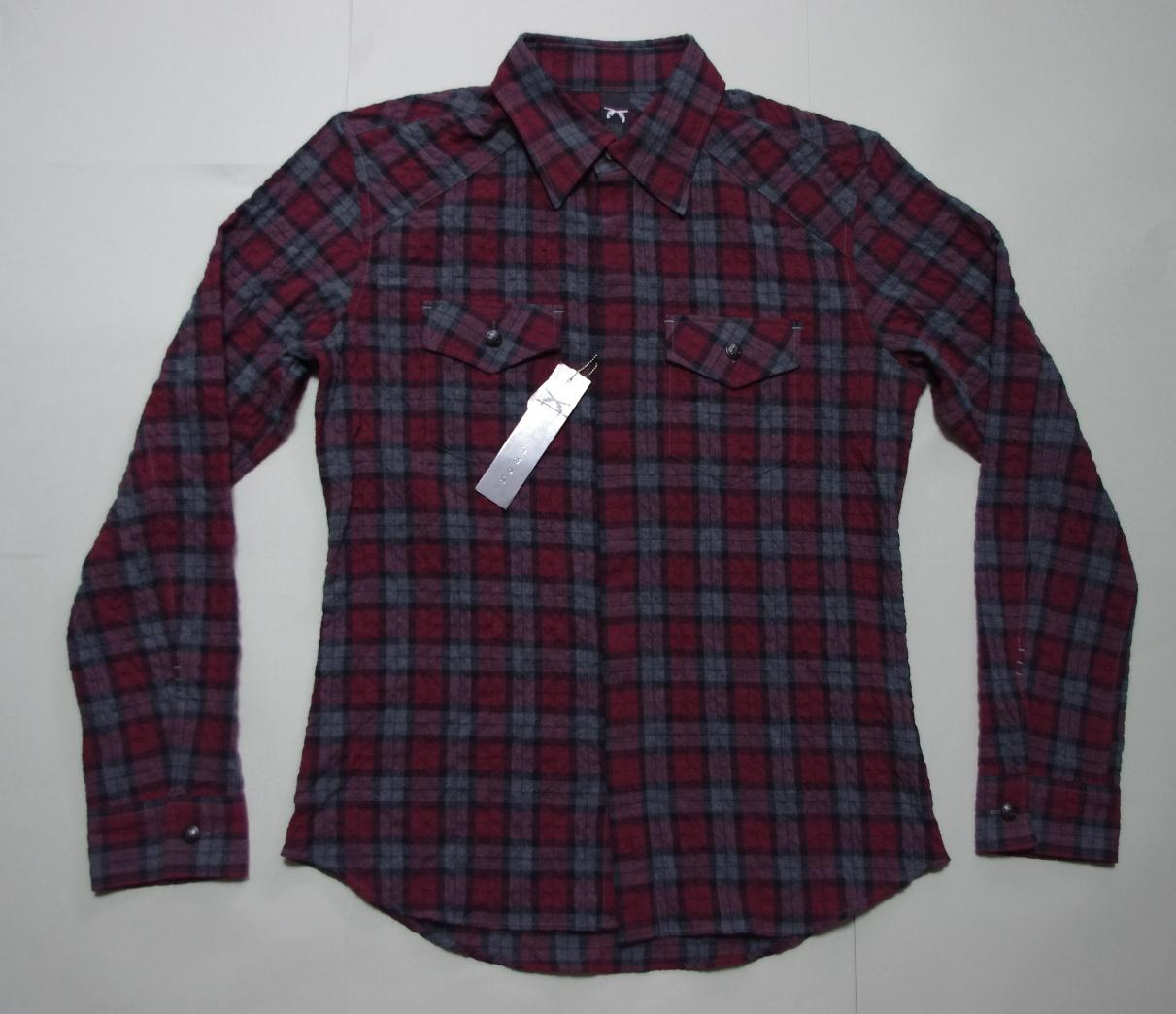 【特価】roarロアー 二丁拳銃イーグルチェックシャツ