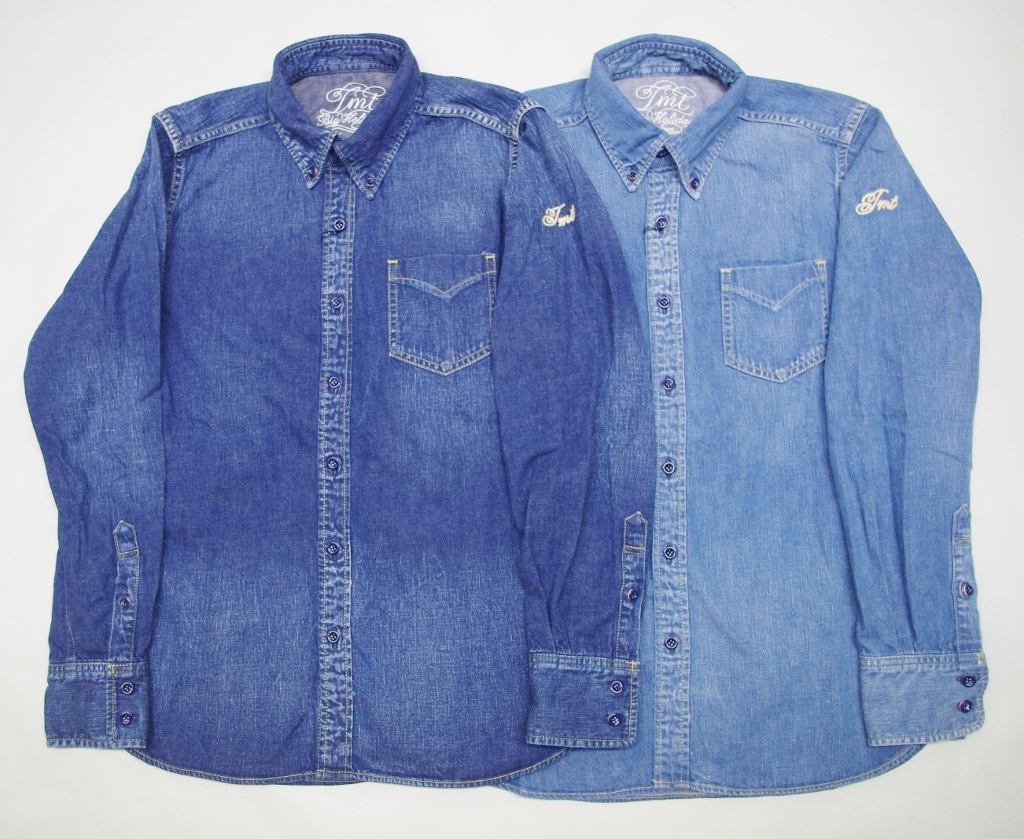 特価 TMT L/SL REGULAR DENIM BD SHIRT