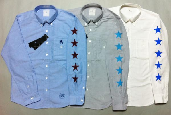 uniform experiment PHONE POCKET FIVE STAR B.D SHIRT シャツ
