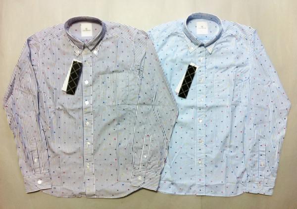 玄関先迄納品 uniform experiment CHART COLOR CHART DOT DOT B.D mastermind SHIRT ドットストライプシャツ:Bid Land, 上品な:69a39fe1 --- nagari.or.id