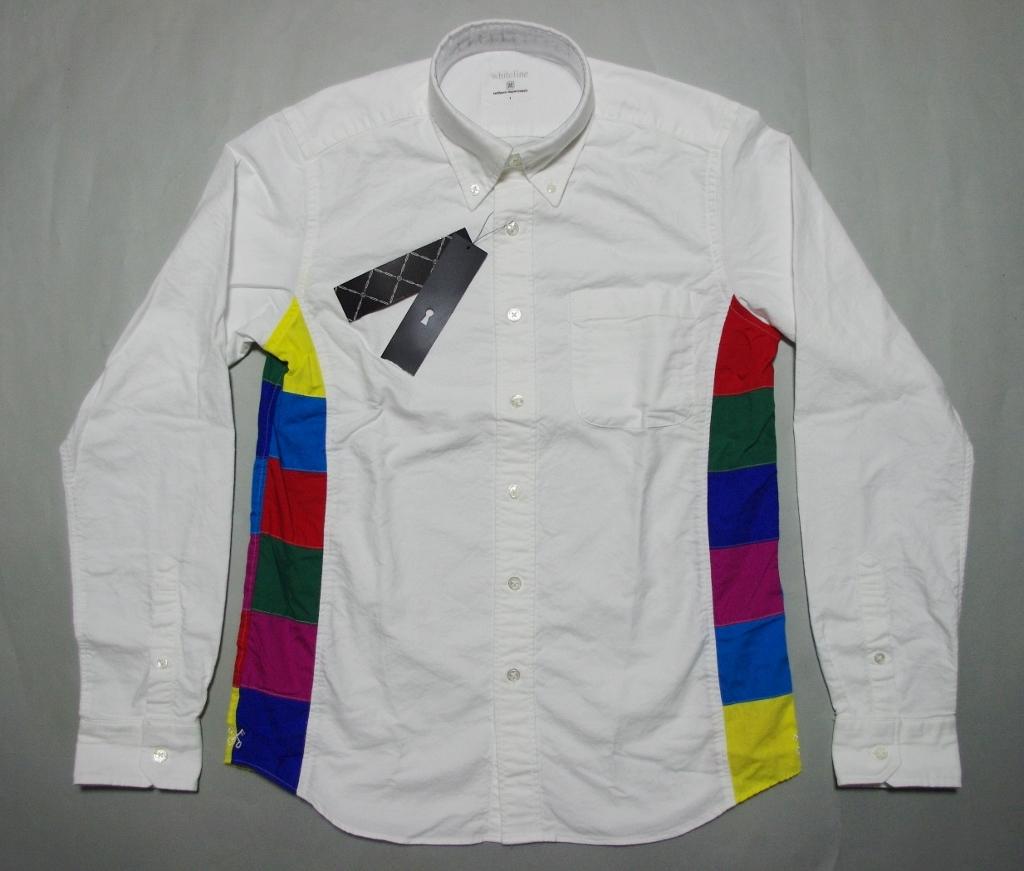 特価uniform experiment SIDE COLAR CHART OXFORD B.D SHIRT シャツ