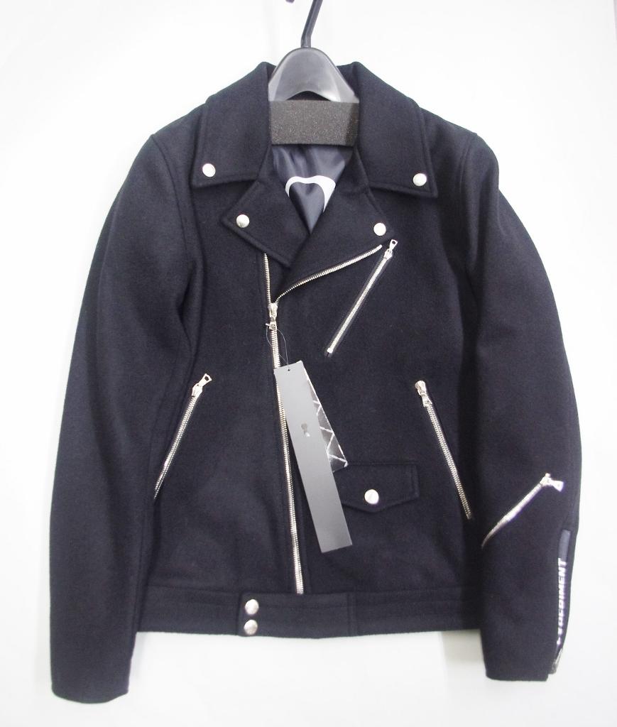特価 uniform experiment WOOL MELTON DOUBLE RIDERS BLOUSON