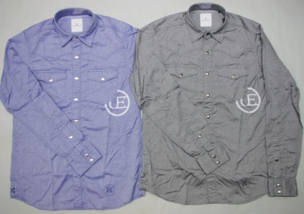特価 uniform experiment 長袖SYANNBURE SHIRTシャツ