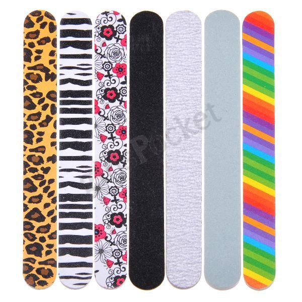 BigOne | Rakuten Global Market: 7 nail file set nail Shiner buffer ...