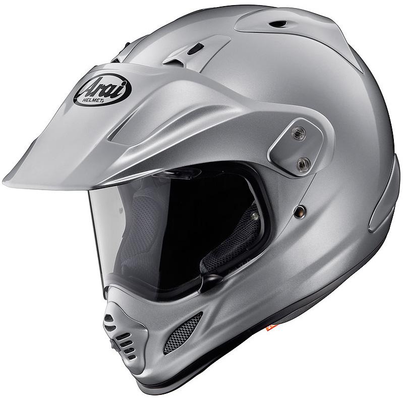 【ヘルメット】 ARAI TOUR CROSS 3 ALUMINA SILVER 59-60 (Lサイズ) オフロード アライ ツアークロス3 Aシルバー