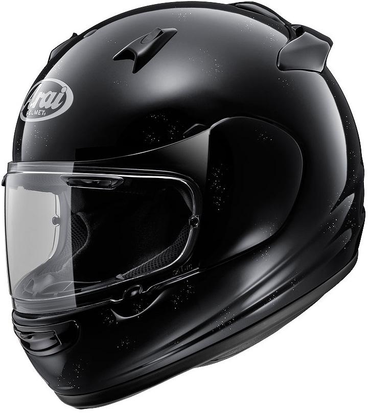 【ヘルメット】 ARAI QUANTUM-J グラスブラック 55-56 (Sサイズ) フルフェイス アライ クアンタムJ