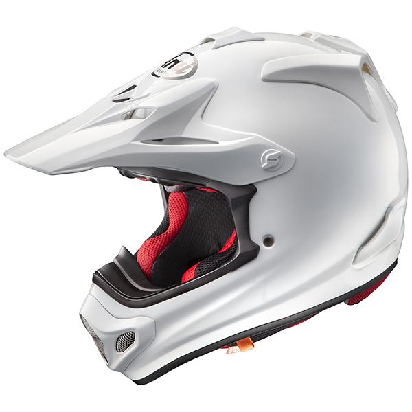 【ヘルメット】ARAI V-CROSS4 ホワイト 白 WHITE 57-58cm アライ ブイクロス4 Vクロス4 オフロード