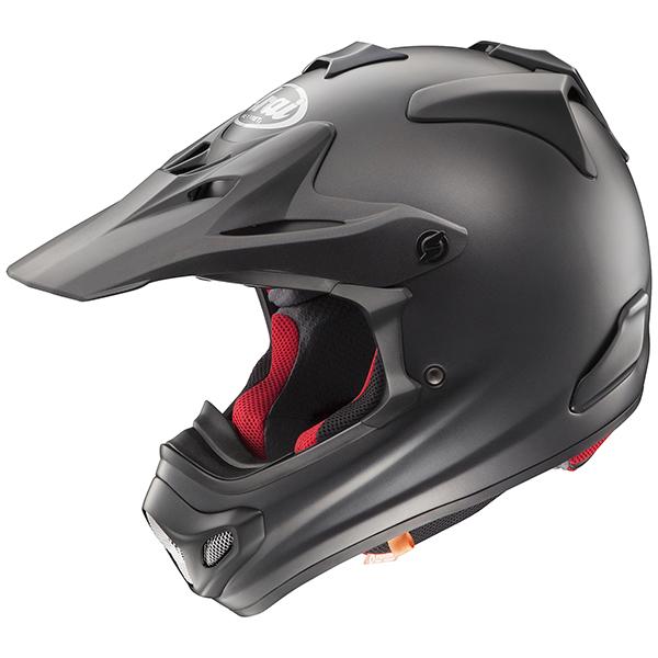 【ヘルメット】ARAI V-CROSS4 フラットブラック FLAT BLACK 61-62cm アライ ブイクロス4 Vクロス4 オフロード