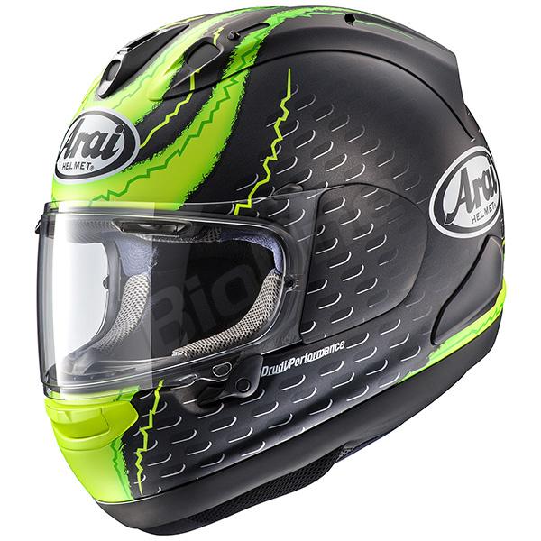 【ヘルメット】ARAI RX-7X CRUTCHLOW (つや消し) 57-58cm フルフェイス アライ アールエックスセブンエックス クラッチロウ レプリカ REPLICA