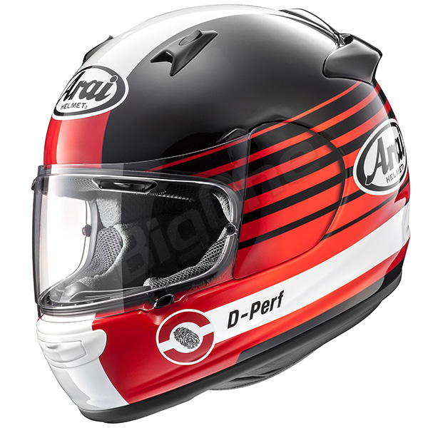 【ヘルメット】ARAI QUANTUM-J PAGE レッド RED 赤 59-60cm アライ フルフェイス クァンタム ジェー クァンタムJ ページ
