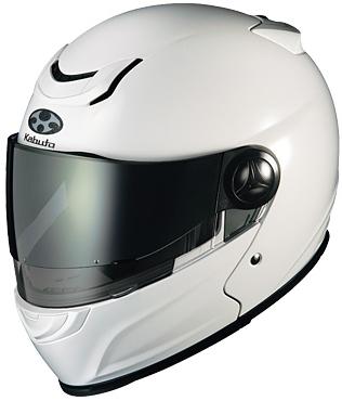 【ヘルメット】 OGK AFFID ホワイトメタリック 61-62 (XLサイズ) フルフェイス オージーケー アフィード