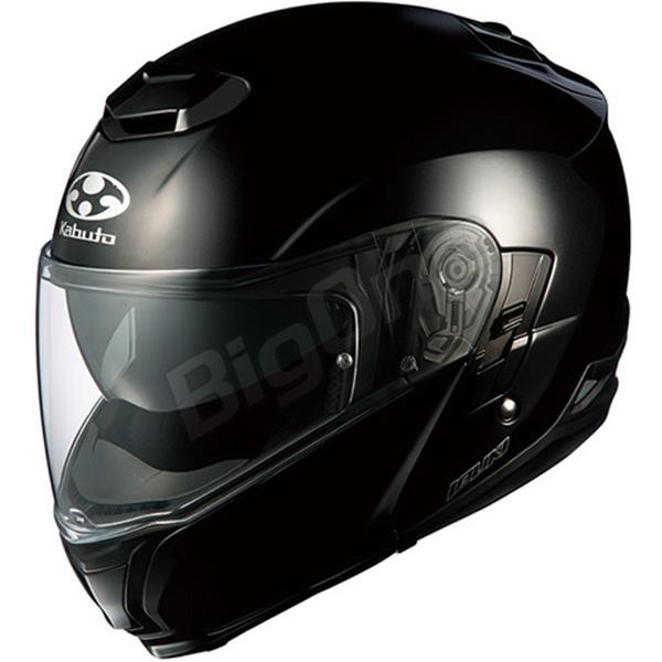 【ヘルメット】 OGK IBUKI ブラックメタリック BLACK METALIC Mサイズ オージーケー カブト イブキ システムヘルメット