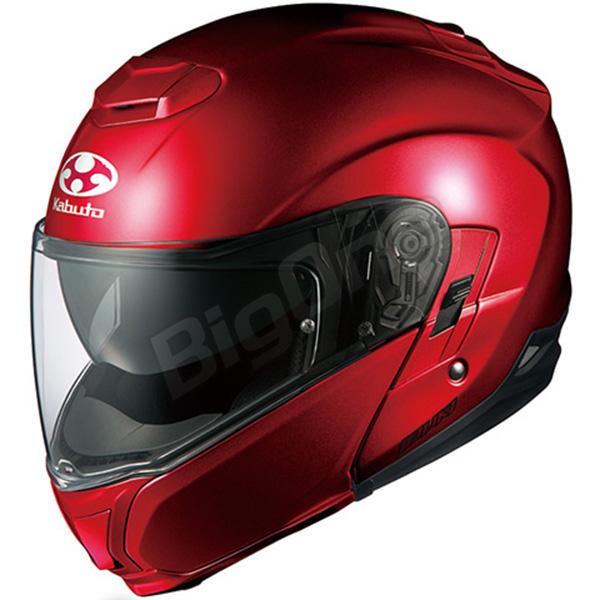 【ヘルメット】 OGK IBUKI シャイニーレッド SHINY RED Sサイズ オージーケー カブト イブキ システムヘルメット