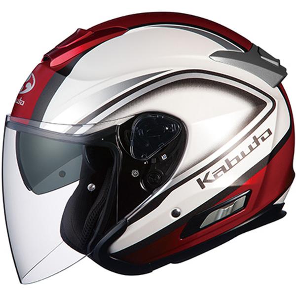 【ヘルメット】 OGK ASAGI CLEGANT パールホワイト PEARL WHITE Mサイズ オージーケー カブト アサギ クレガント オープンフェイス