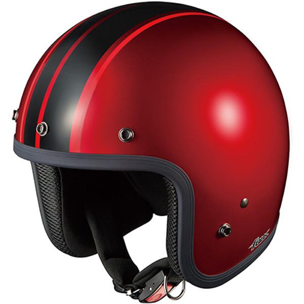 【ヘルメット】 OGK FOLK G1 シャイニーレッドブラック SHINY RED BLACK 57-59cm オージーケー カブト フォーク