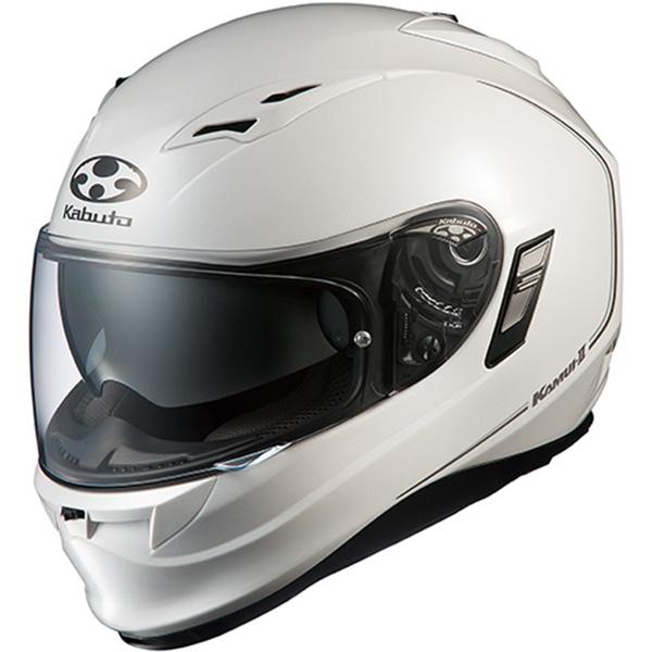 【ヘルメット】 OGK KAMUI 2 パールホワイト PEARL WHITE Mサイズ カムイ-2 オージーケー カブト カムイ後継モデル