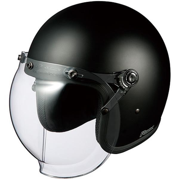 【ヘルメット】 OGK ROCK フラットブラック フリーサイズ FREE ジェットヘル オージーケー ロック
