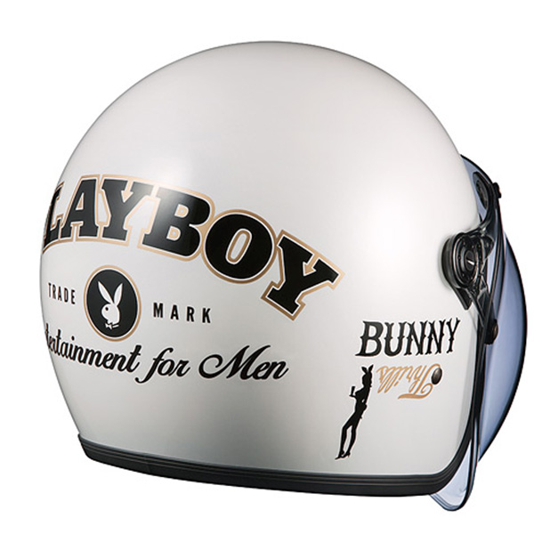 OGK ROCK PLAYBOY Pearl White PEARLWHITE 57-59 cm osyka Kabuto rock Playboy collaboration planning Jet here
