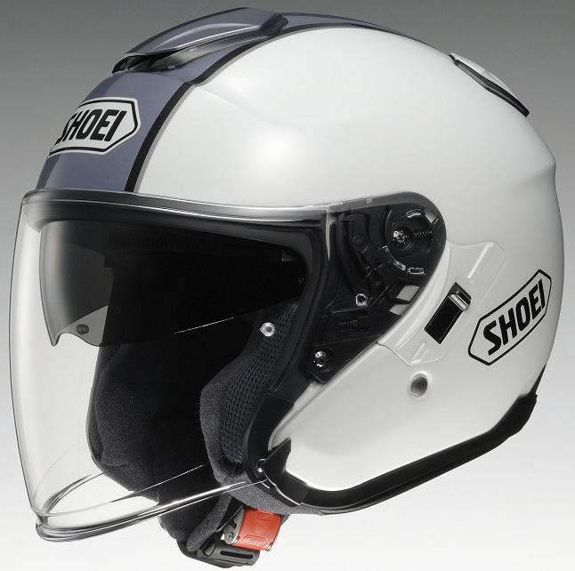 【ヘルメット】 SHOEI J-Cruise CORSO TC-6 ホワイト/シルバー 61cm (XLサイズ) オープンフェイス ショウエイ ジェイ-クルーズ コルソ
