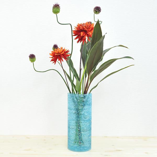 Bigone Rakuten Global Market Flower Vase 30 Cm Czech Turquoise