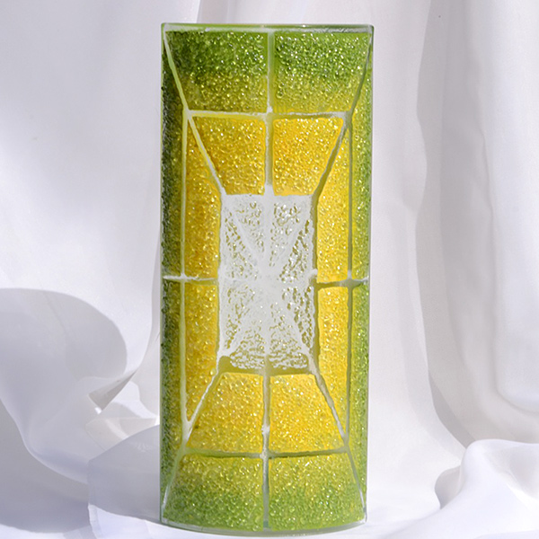 Bigone Rakuten Global Market Flower Vase 30 Cm Czech Green Green