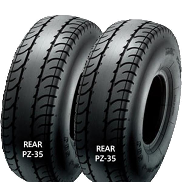 IRC PZ-35 左右Set ジャイロキャノピー 130/70-8 42L TL リア リヤ タイヤ 後輪