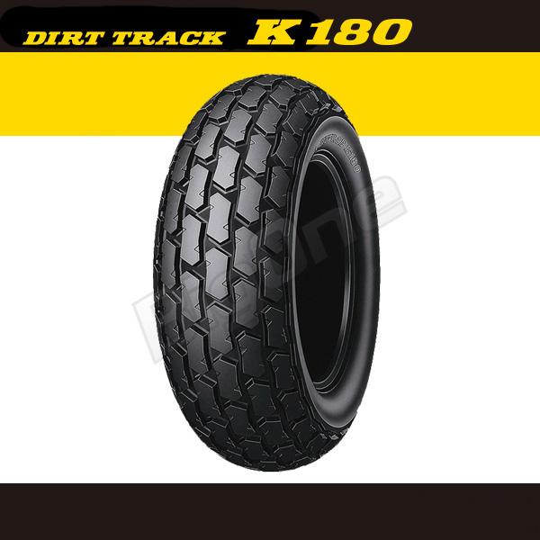 【タイヤ】 ダンロップ DUNLOP K180 リアタイヤ 180/80-14 M/C 78P WT 180-80-14 後輪 DIRT TRACK