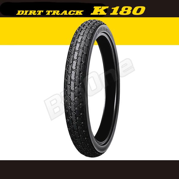 던 롭 DUNLOP K180F 프론트 타이어 3.00-21 51P WT 전 륜 DIRT TRACK