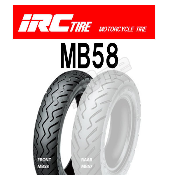 IRC MB58 121132 front desk tire 90/90-12 44J TL 90-90-12 front wheel front desk FRONT tube reply