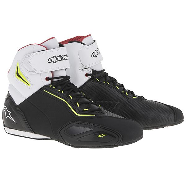 Alpinestars 快 2 皮鞋黑 / 荧光黄荧光黑/黄色黑色 / 黄色︰ l 尺寸︰ 9.5 (27 厘米)