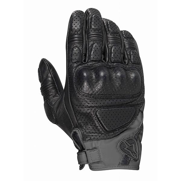 野马皮革手套黑色 M Alpinestars