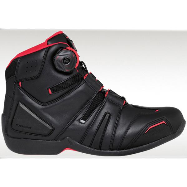 【シューズ】【RS TAICHI】 RSS006 DRYMASTER BOA RIDING SHOES ブラック/レッド 27.5cm アールエスタイチ ドライマスター ライディング靴 シューズ RSタイチ