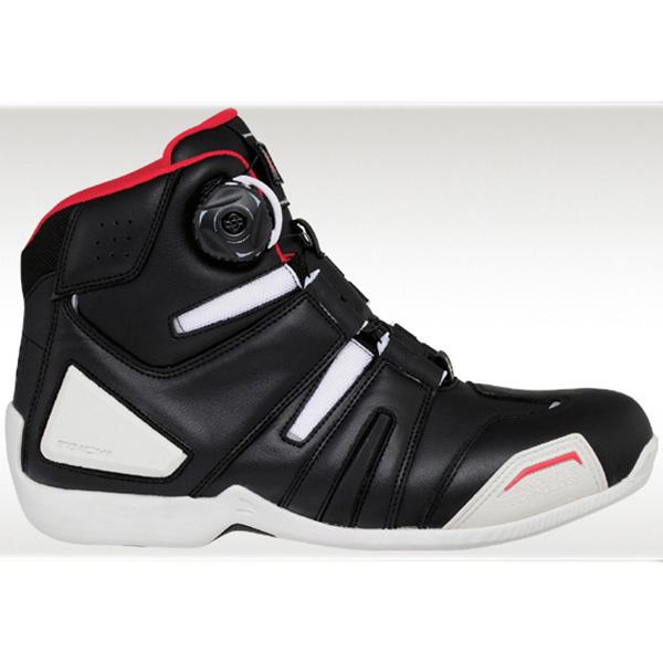 【シューズ】【RS TAICHI】 RSS006 DRYMASTER BOA RIDING SHOES ブラック/ホワイト 23.0cm アールエスタイチ ドライマスター ライディング靴 シューズ RSタイチ