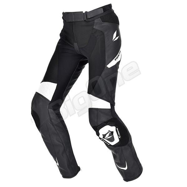 【パンツ】【RS TAICHI】 RSY829 エイペックス レザーパンツ BLACK/WHITE ブラック/ホワイト 黒/白 3XL/56サイズ アールエスタイチ APEX LEATHER PANTS