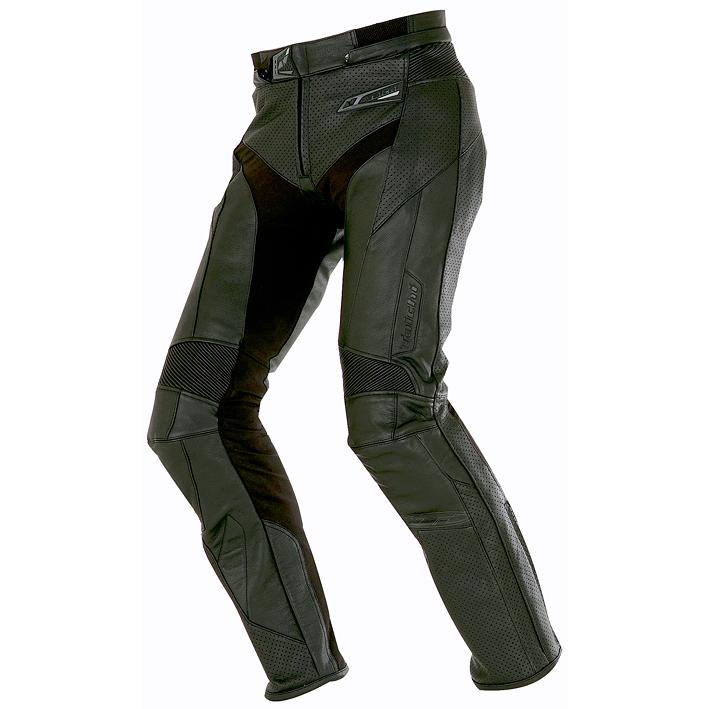 【パンツ】【RS TAICHI】 RSY817 ブーツアウト ベンテッド レザーパンツ BLACK ブラック 黒 XXL/54サイズ アールエスタイチ BOOTS OUT VENTED LEATHER PANTS