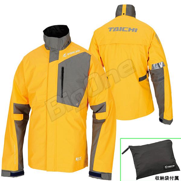【レインウェア】【上下セット】【RS TAICHI】RSR043 DRYMASTER-X レインスーツ YELLOW イエロー 黄 Lサイズ 収納バッグ付属 ドライマスターX RAIN SUITS アールエスタイチ