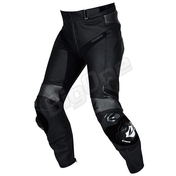 【RSタイチ】【ジーエムエックス】【アロー】フラッグシップレザースーツ。GP-MAXのレーシングテクノロジーをフィードバッグしたピュアスポーツレザーパンツ 【パンツ】【RS TAICHI】RSY828 GMX アロー レザー パンツ BLACK ブラック 黒 4XLサイズ (EURO size: 58) ARROW LEATHER PANTS アールエスタイチ