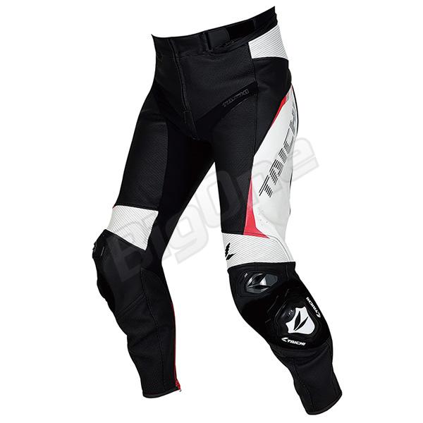 【パンツ】【RS TAICHI】RSY828 GMX アロー レザー パンツ BLACK/WHITE ブラック/ホワイト 黒/白 MWサイズ (EURO size: 48) ARROW LEATHER PANTS アールエスタイチ