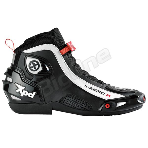 【シューズ】【Xpd】 XPS012 X-ZERO R ライディングシューズ BLACK ブラック 黒 28.5cm (45) エックスピーディー エックスゼロ SHOES ブーツ BOOT
