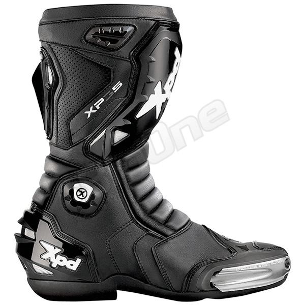 【ブーツ】【Xpd】 XPN018 XP-3S レーシングブーツ BLACK ブラック 黒 25.0cm (40) エックスピーディー RACING BOOT シューズ SHOES