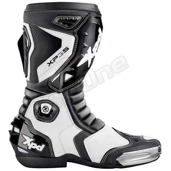 【ブーツ】【Xpd】 XPN018 XP-3S レーシングブーツ BLACK/WHITE ブラック/ホワイト 黒/白 25.5cm (41) エックスピーディー RACING BOOT シューズ SHOES