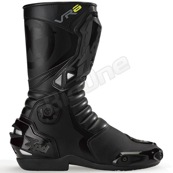 【ブーツ】【Xpd】 XPN020 VR-6 2 レーシングブーツ BLACK ブラック 黒 27.5cm (43) エックスピーディー RACING BOOT シューズ SHOES